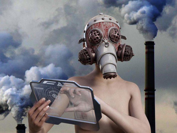 自転車通勤と大気汚染