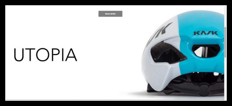 ロードバイク用エアロヘルメットKASK Utopia