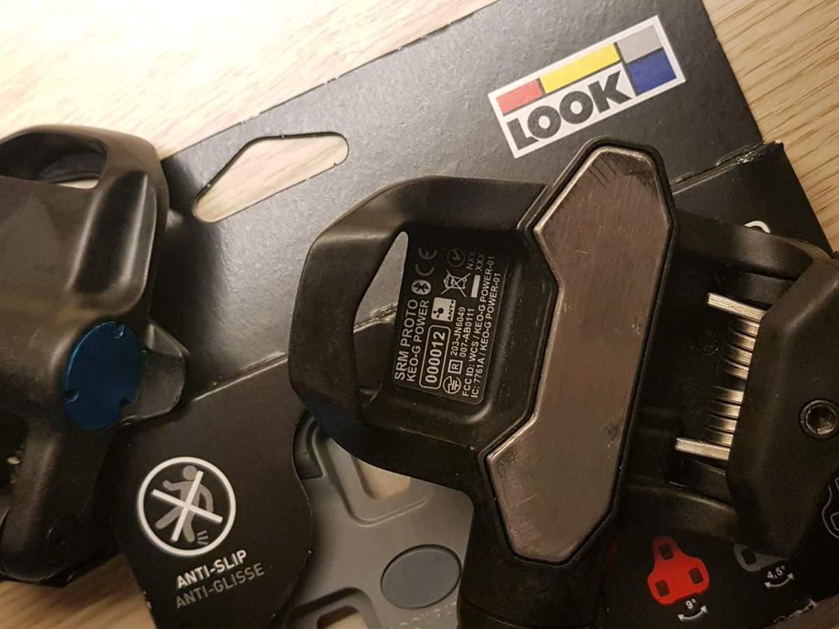 LOOKの新型ペダルKEO-Gが今年に登場か?SRMのパワーメーター内蔵!