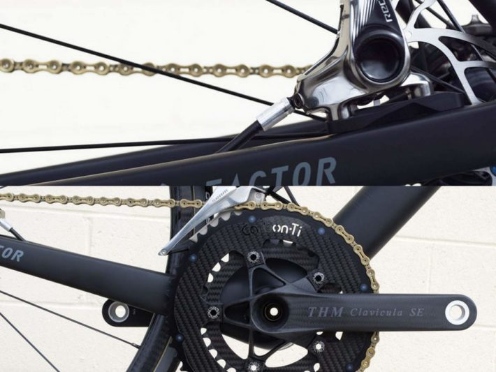 Factor O2 Fair Wheel Bikesカスタム