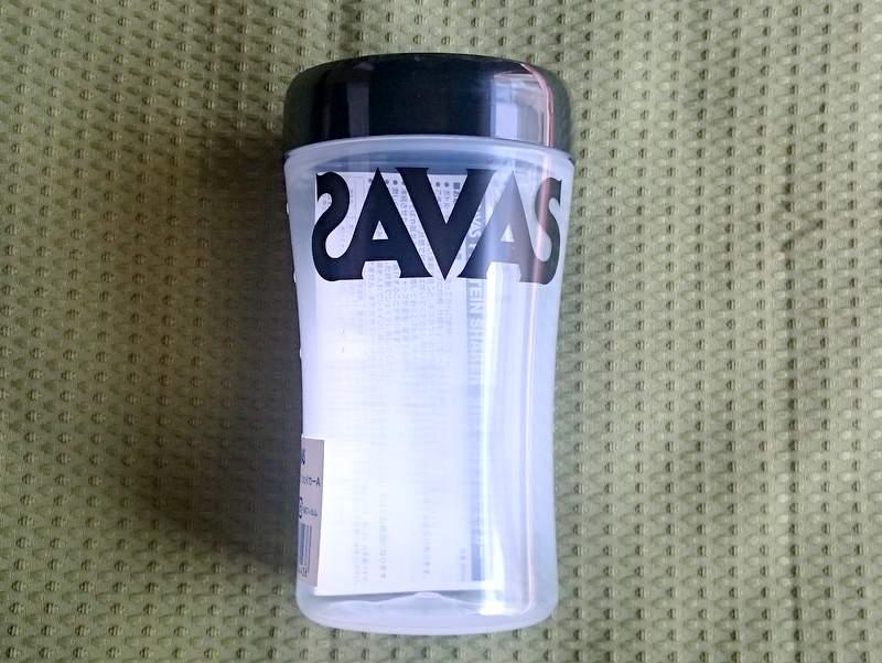 ザバス(SAVAS)のプロテイン専用シェイカー