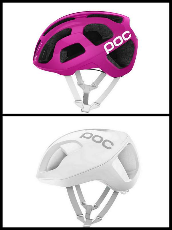 POC ロードバイク用ヘルメットOctalとVentral
