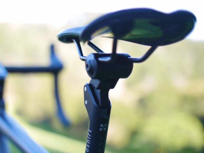 ロードバイク用サスペンション搭載シートポスト、Redshift Sports「Shockstop Seatpost」