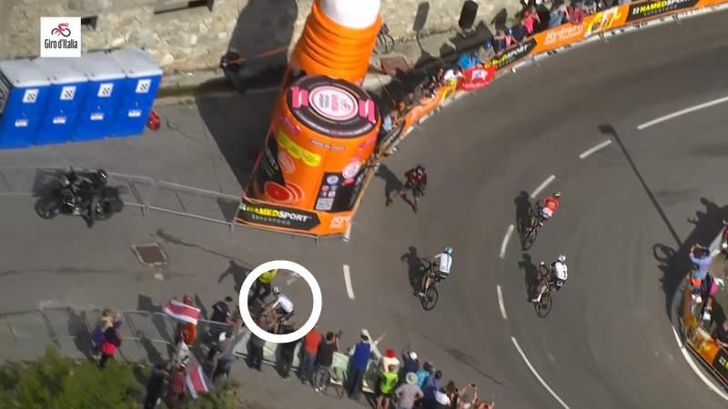 ロードバイクとロードレース、2018ジロ・デ・イタリア第18ステージ。