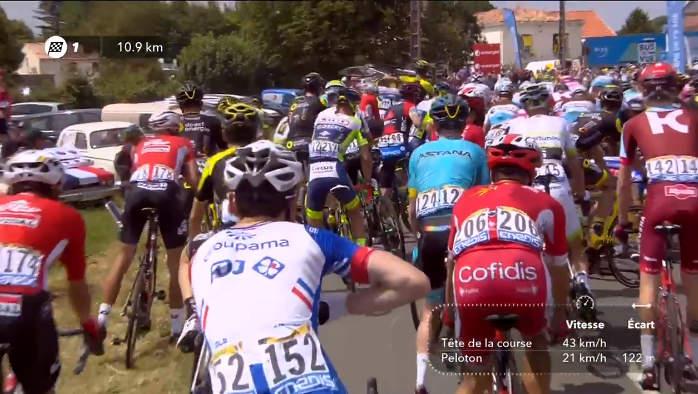 2018ツール・ド・フランス第1ステージ。