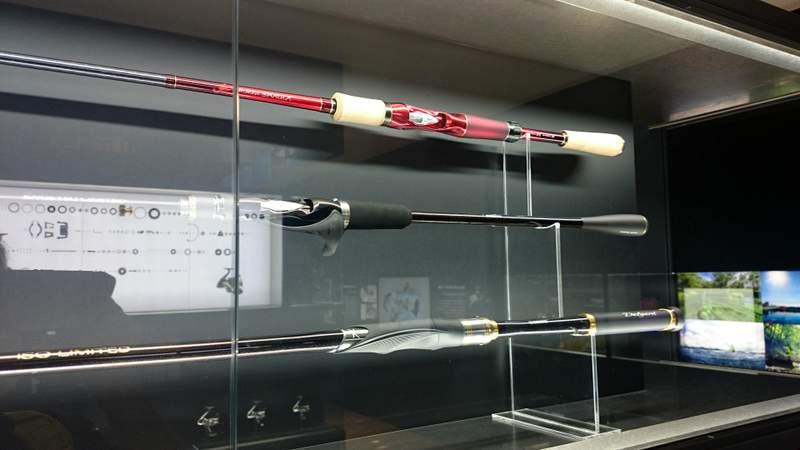 シマノのカフェ「SHIMANO SQUARE」とシマノの釣具