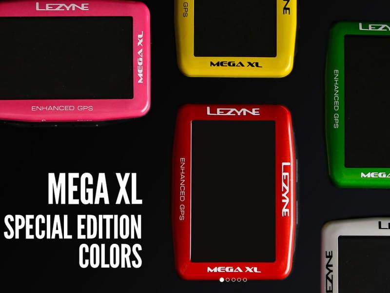 Lezyne サイコンMEGA XL GPS