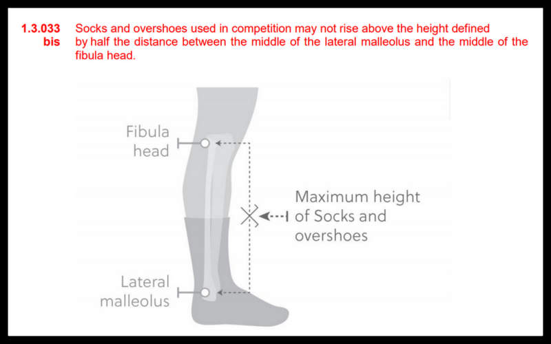 UCIと靴下のルール