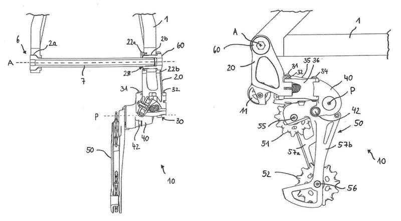 SRAMダイレクトマウント&油圧式リアディレイラー