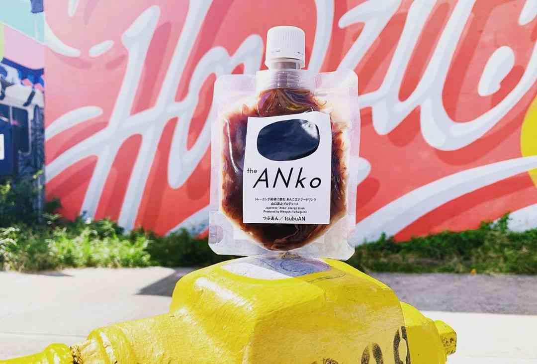 飲むあんこ!?築地果汁創作所からエナジードリンク「the ANko」爆誕