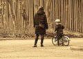 自転車の乗り方