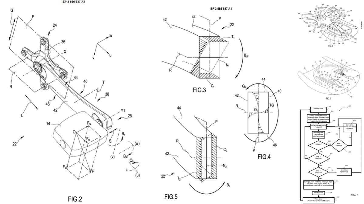 カンパニョーロのパワーメーター関連特許。ひずみゲージと温度センサーが精度を上げる?