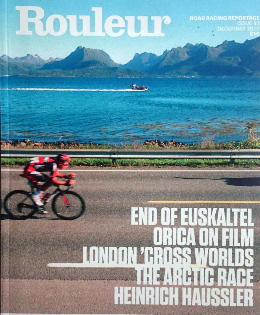 自転車雑誌Rouleur。エウスカルテル・エウスカディの解散特集号