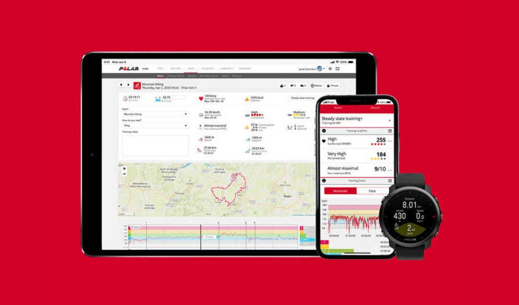 GPS時計 Polar Grit X