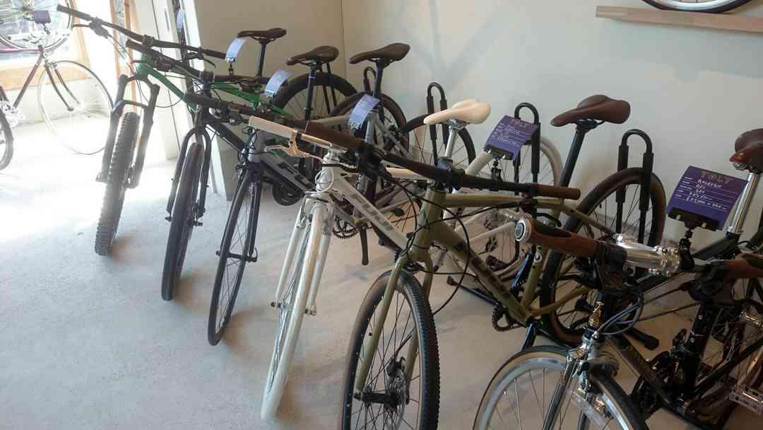 新しい自転車屋「TOLT」爆誕