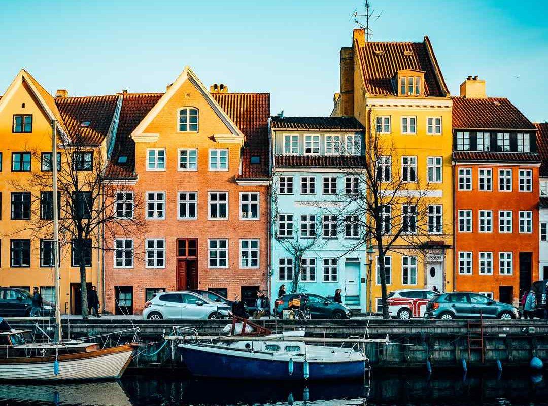 デンマークのコペンハーゲン