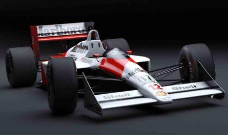 F1マシン(マクラーレン・ホンダ)