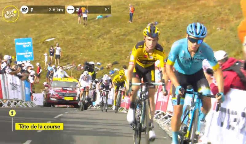 2020ツール・ド・フランス第18ステージ メリベル・コル・デ・ラ・ロゼ