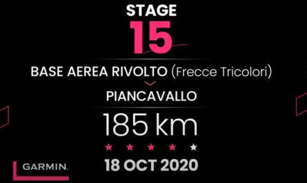 2020ジロ・デ・イタリア第15ステージ