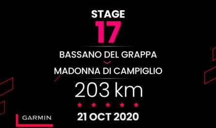 2020ジロ・デ・イタリア第17ステージ
