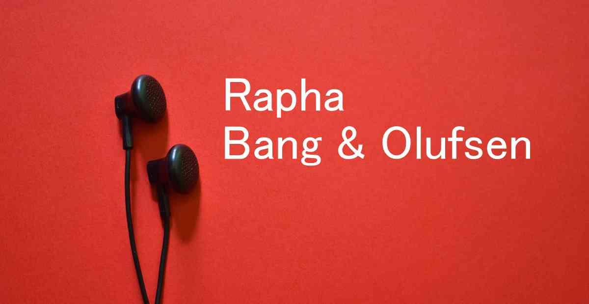 Rapha x Bang & Olufsen!インドアトレーニングに最適なBeoplay E8 Sport Raphaワイヤレスイヤフォン登場