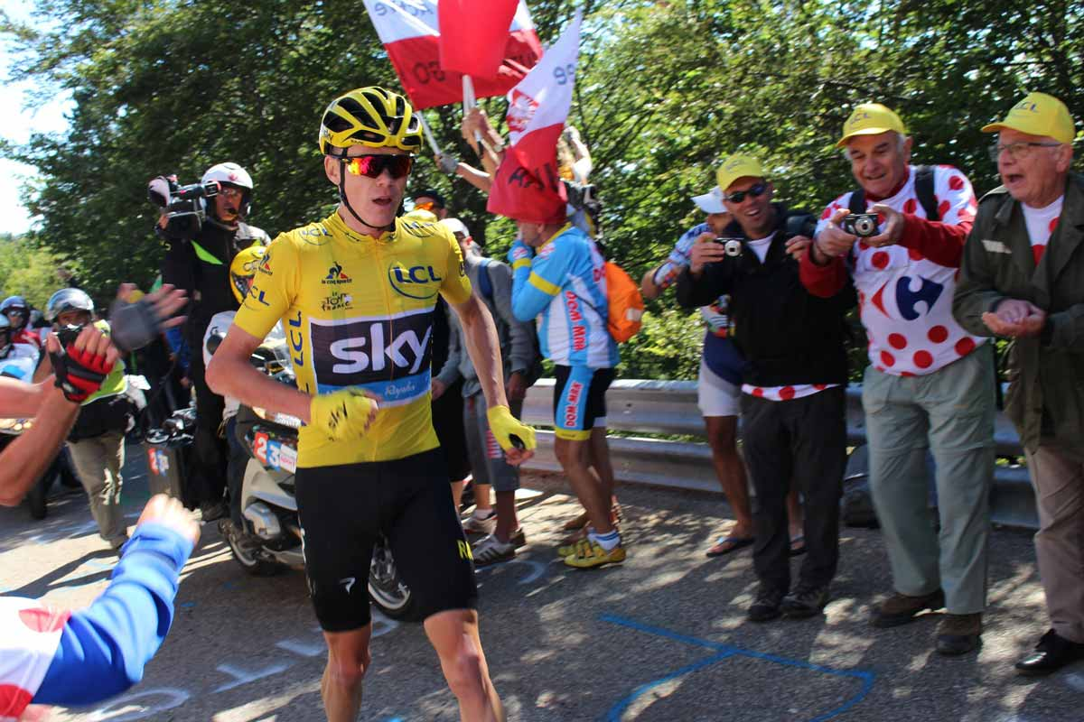 ツール・ド・フランスとクリス・フルーム