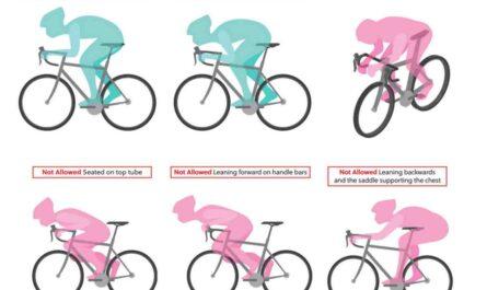UCI禁止のポジション例