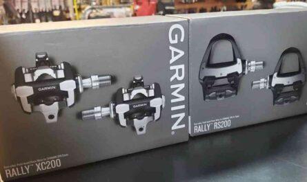 Garminのペダル型パワーメーターRally