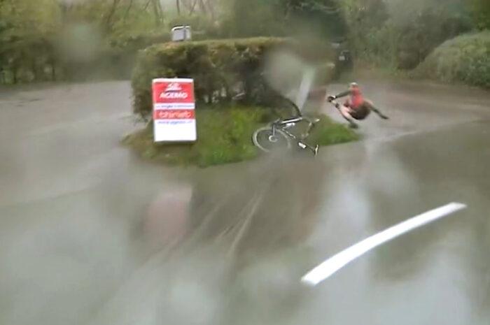 【雨と落車】2021ロマンディ第3ステージの結果。デニスとキュングが雨で落車
