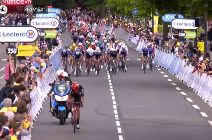 アラフィリップ「カヴェンディッシュは今でも世界最速の1人だと証明した」。第4ステージ後のコメント