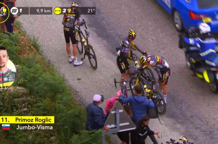 落車負傷のプリモシュ・ログリッチは第4ステージも出走