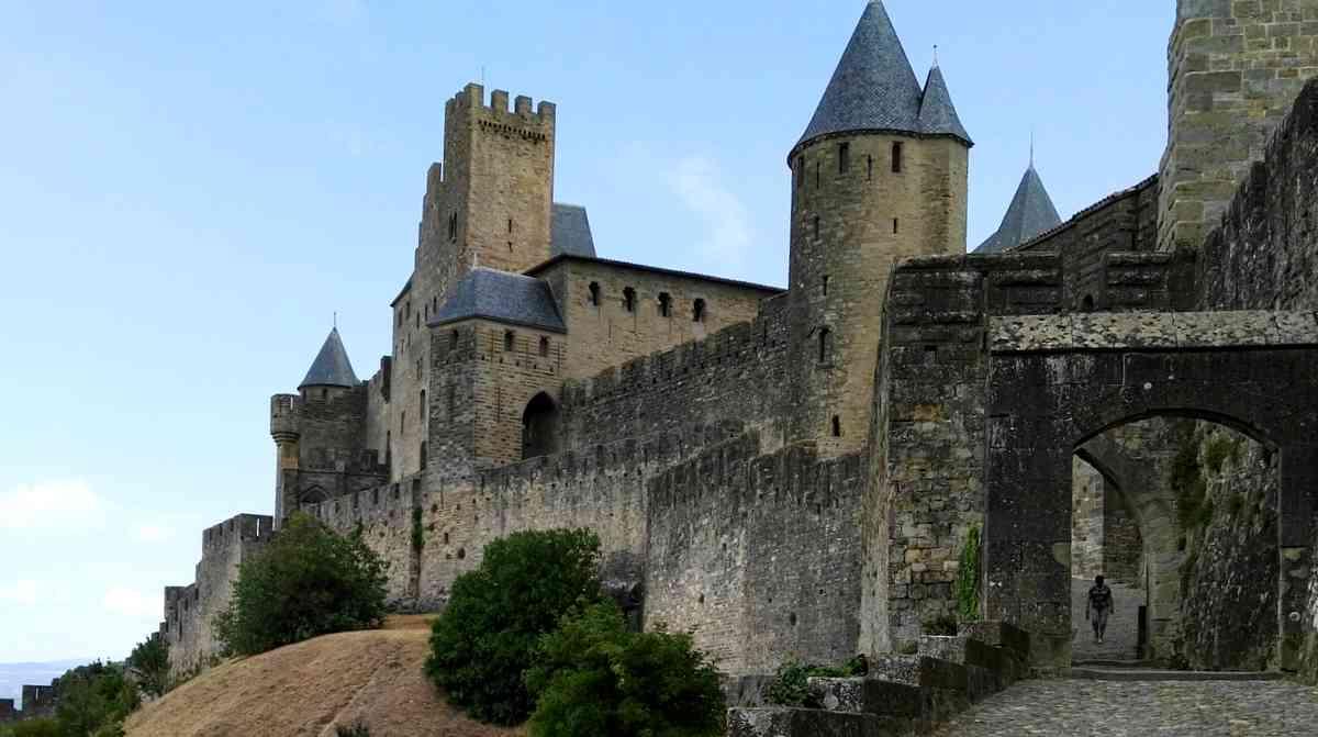 フランスの世界遺産都市カルカッソンヌ